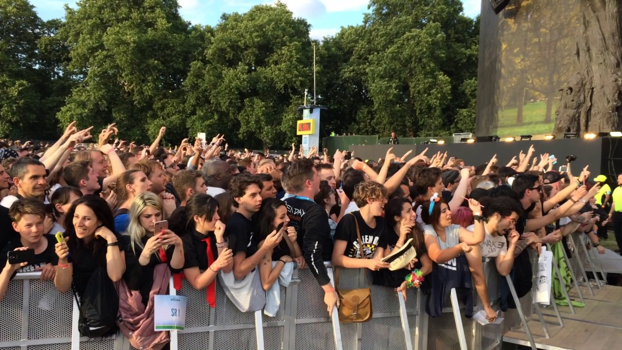 green day hyde park review