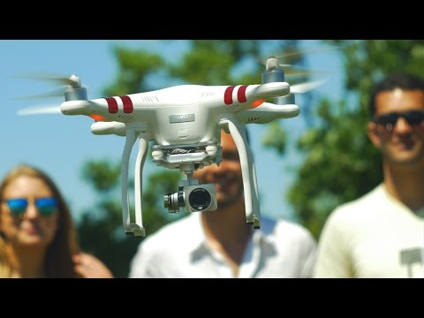 dji phantom 3 standard quadcopter drone review