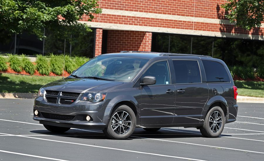 dodge grand caravan rt review