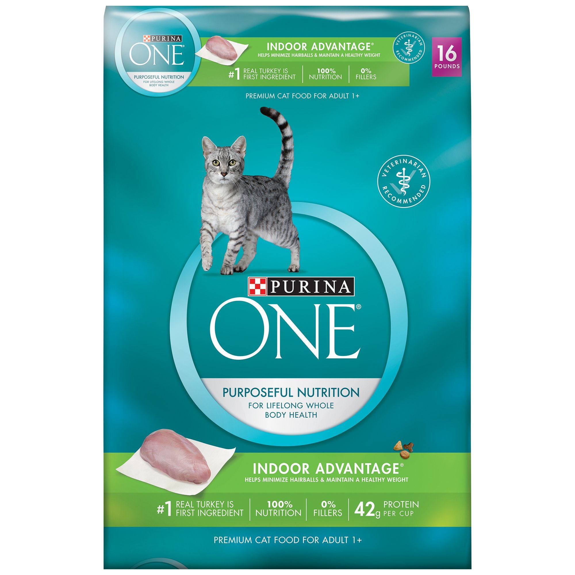 purina one indoor advantage cat food review