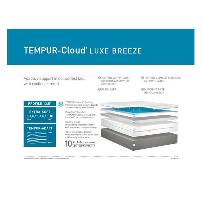 tempur cloud luxe breeze reviews