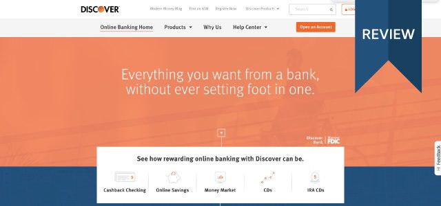 discover online savings account review