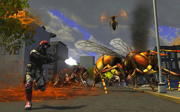 earth defence force 2017 review