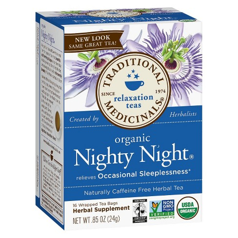 organic nighty night tea reviews