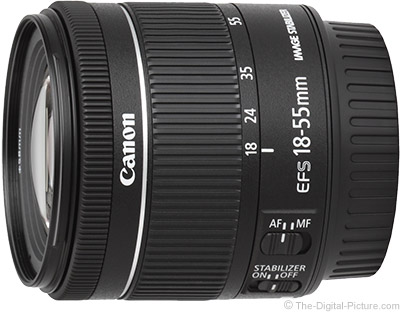 efs 18 55mm canon lens review