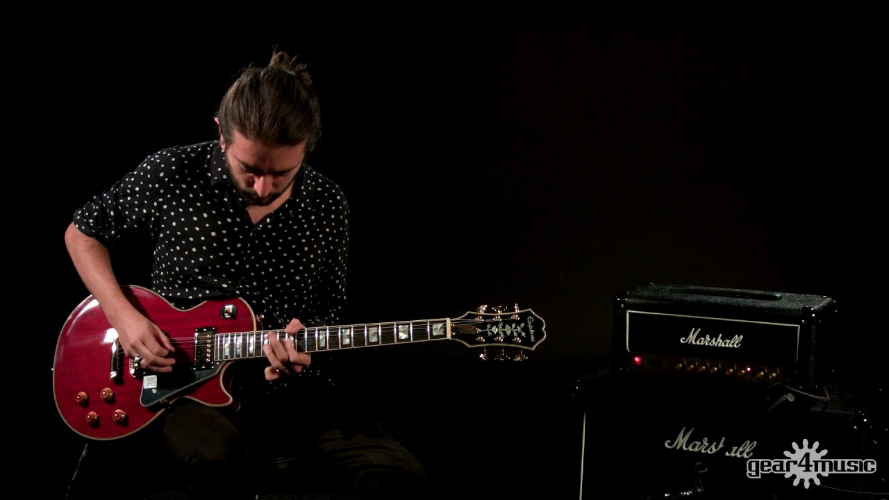 epiphone les paul 100th anniversary edition review