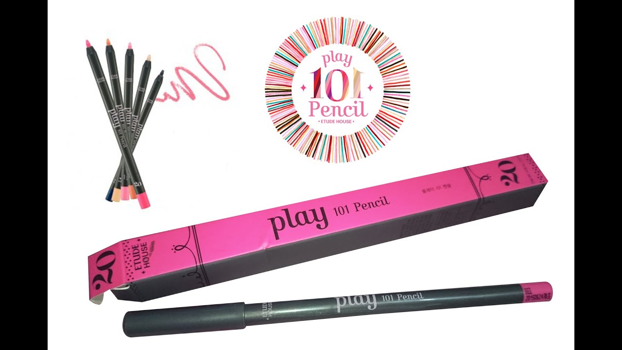 etude house play 101 pencil review