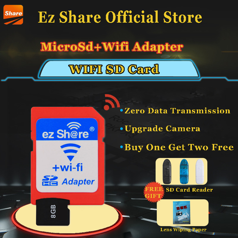 ez share wifi sd card review