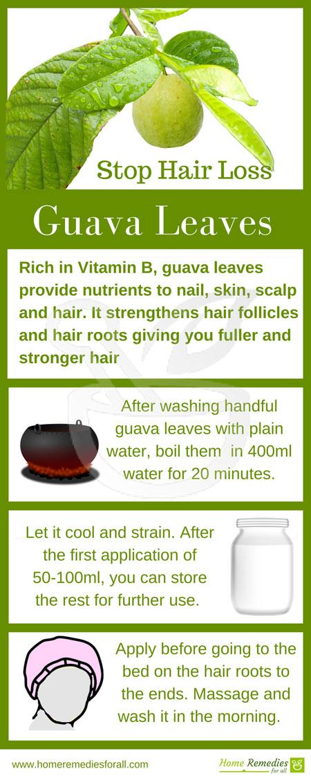 guava leaves for hair growth review