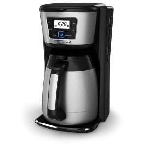 black and decker 12 cup thermal coffee maker reviews