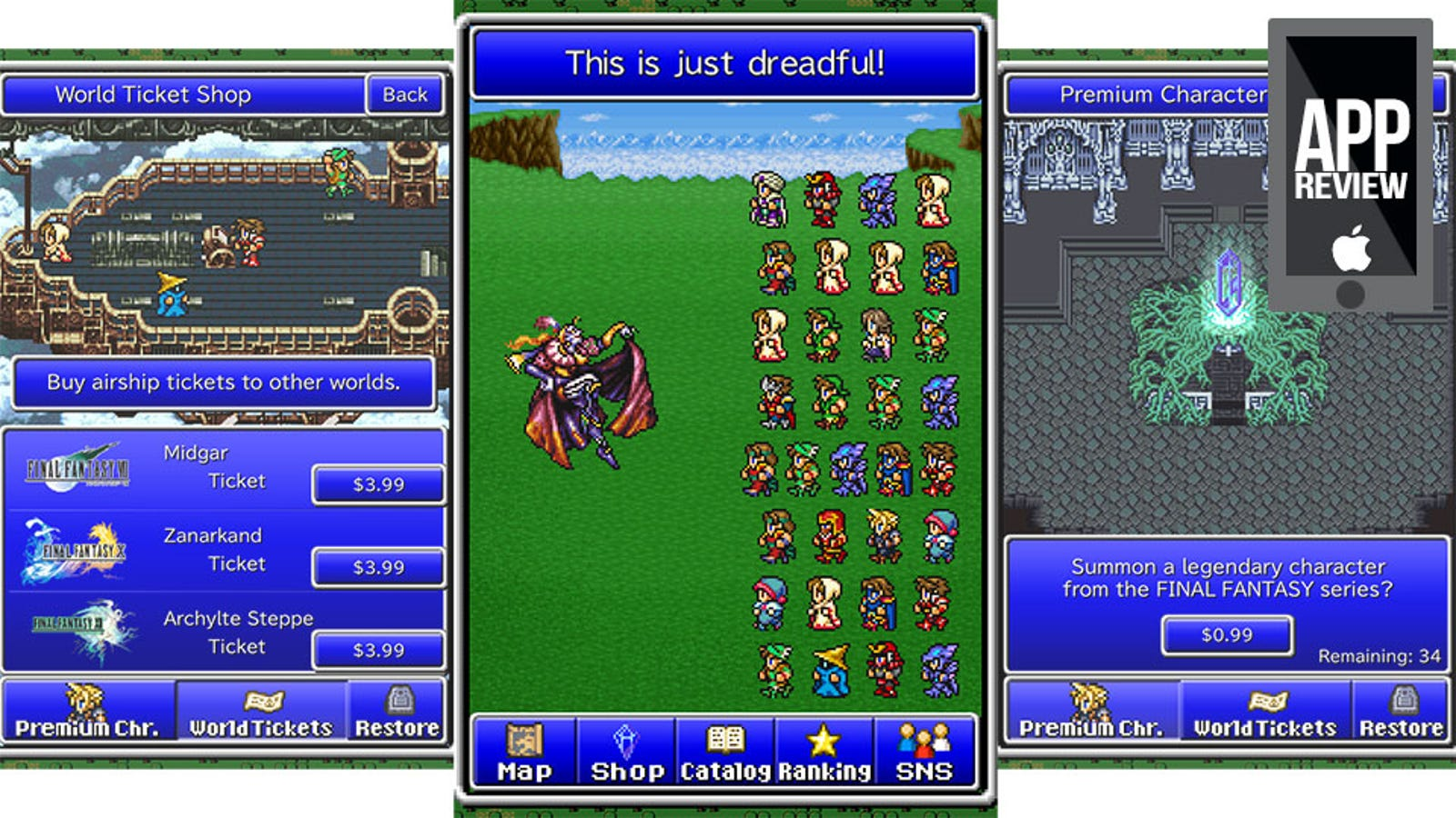 final fantasy all the bravest review