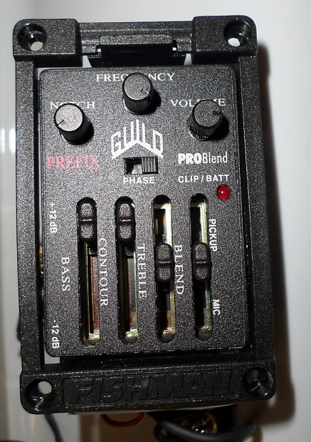 fishman prefix pro blend review