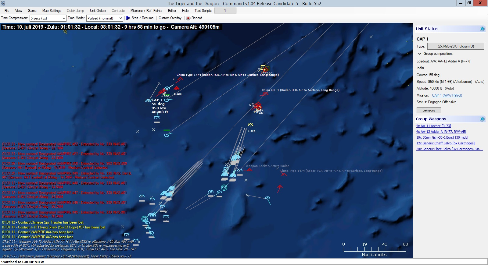 command modern air naval operations review