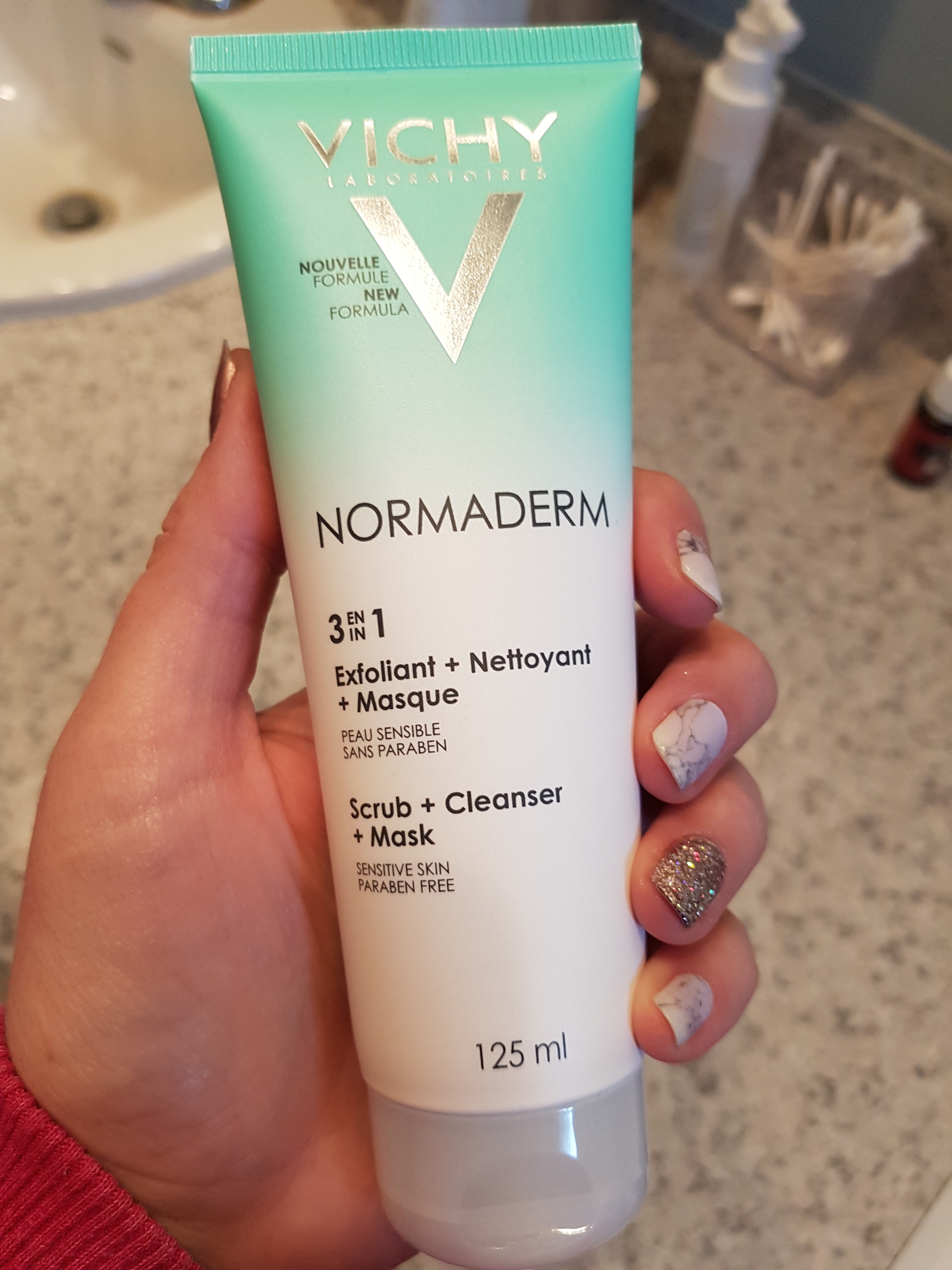 vichy 3 in 1 cleanser review