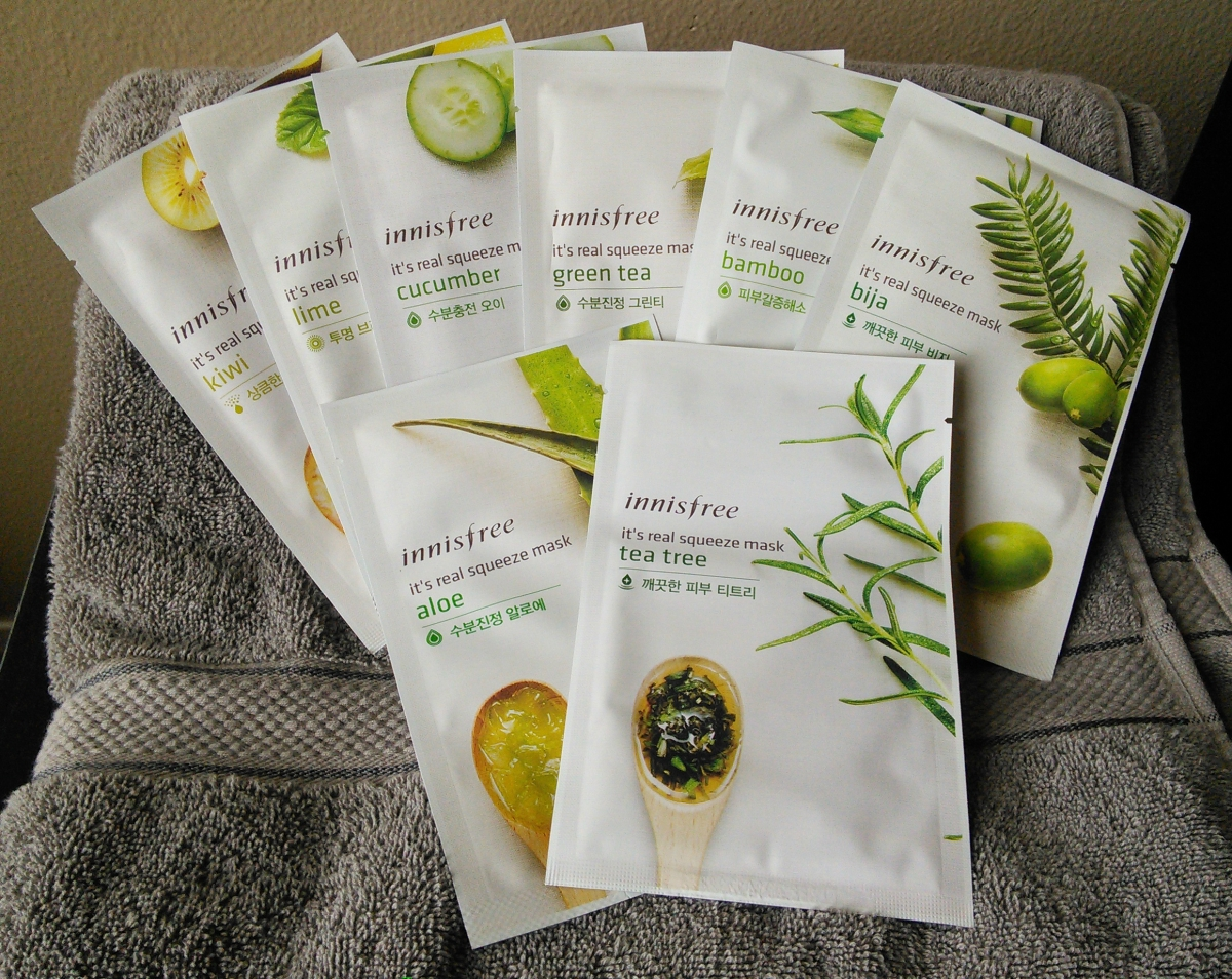 innisfree real squeeze mask review