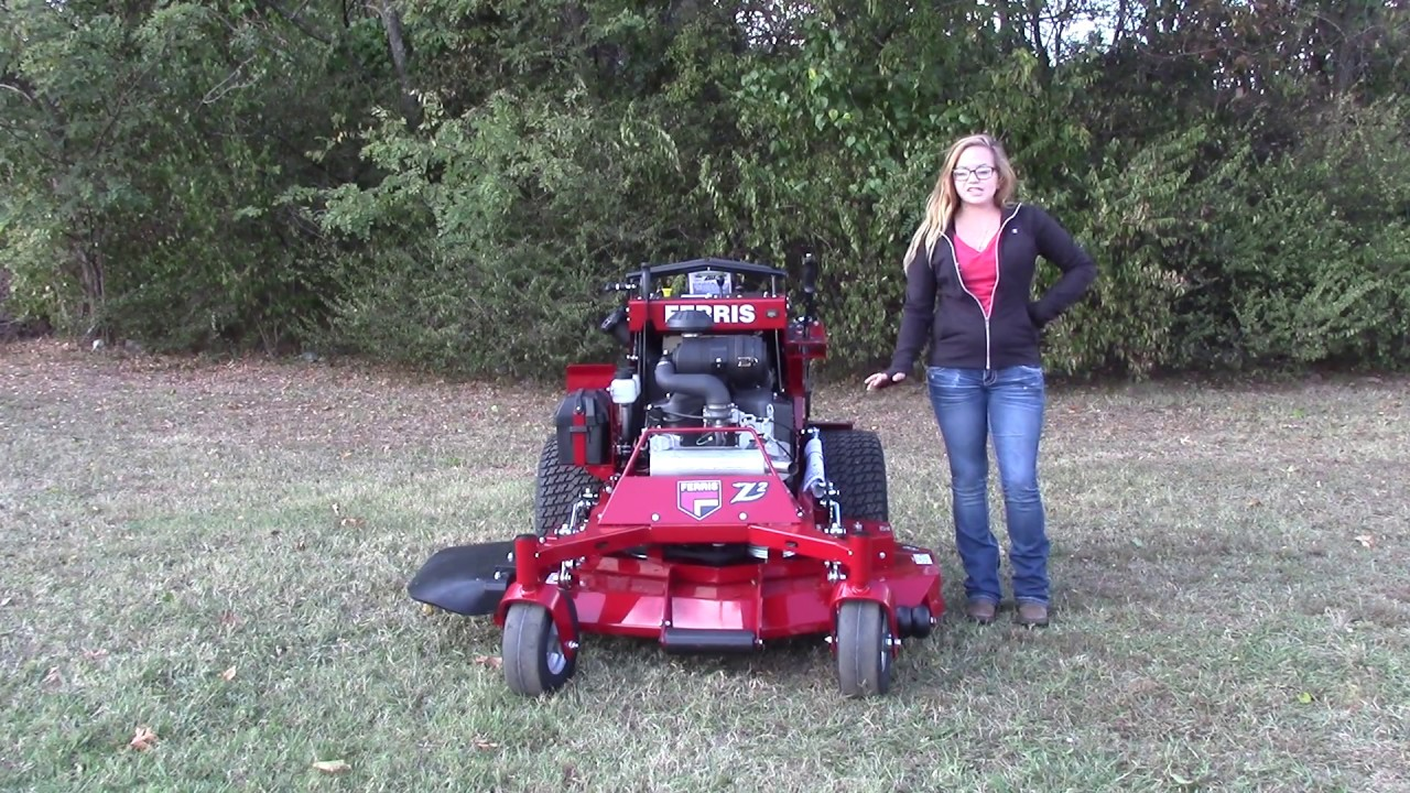 ferris stand on mower reviews