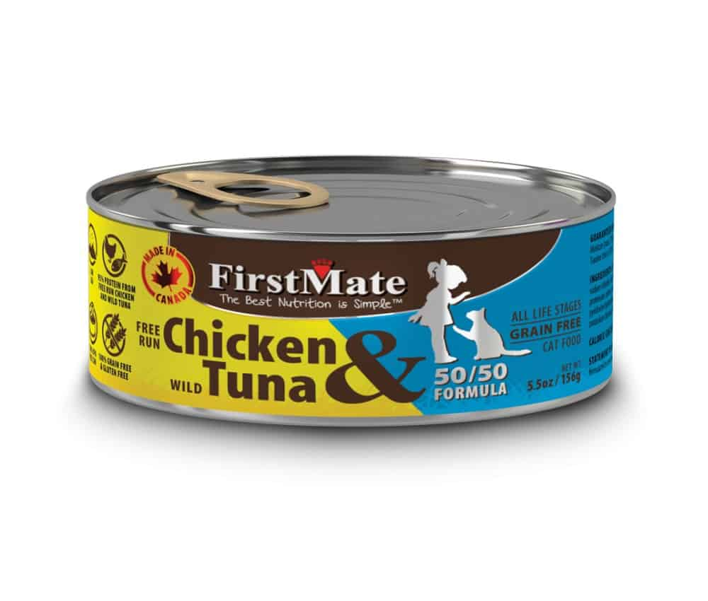 first mate canned cat food reviews