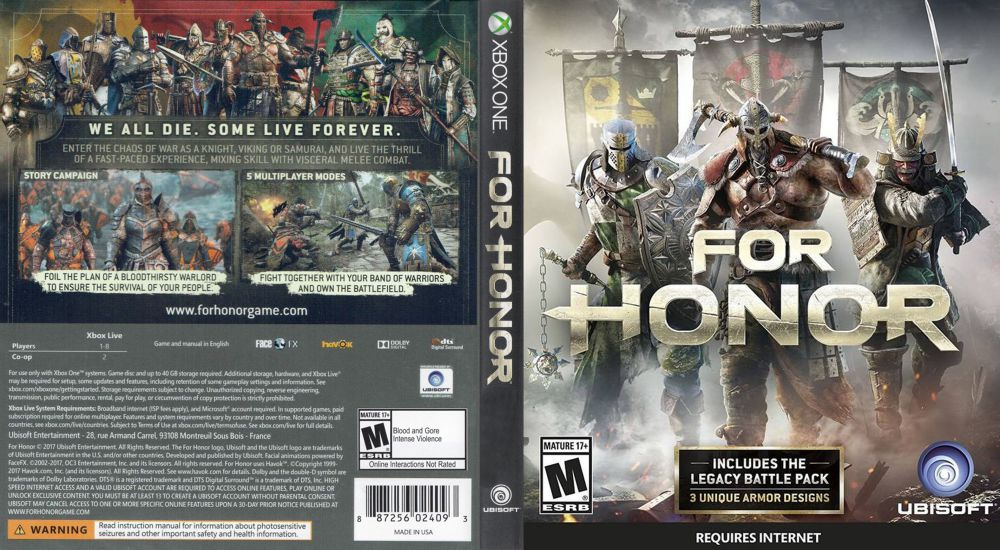 for honour review xbox one