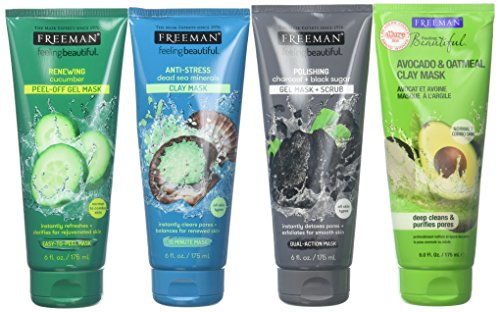 freeman pomegranate face mask review