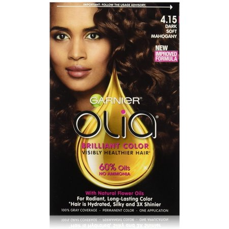 garnier olia dark soft mahogany reviews
