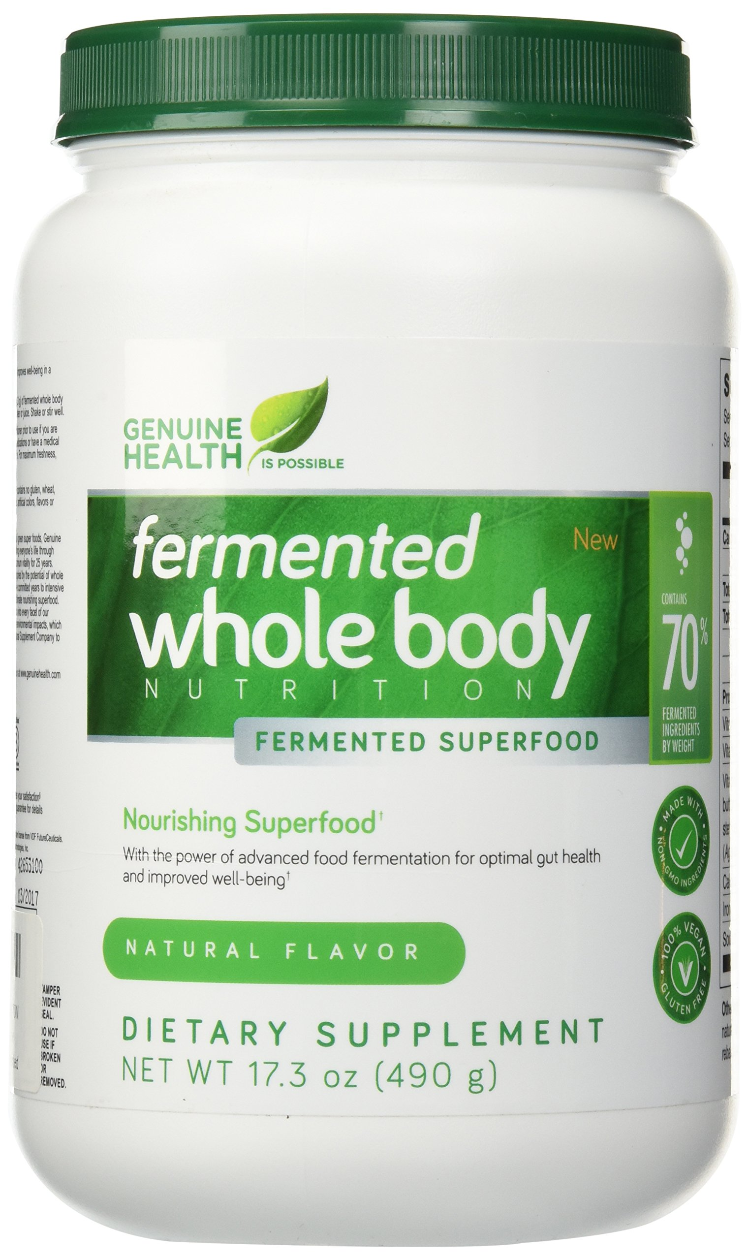 genuine health fermented whole body nutrition reviews