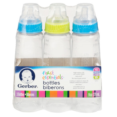 gerber first essentials bottles reviews