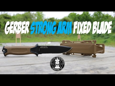 gerber strongarm fixed blade review