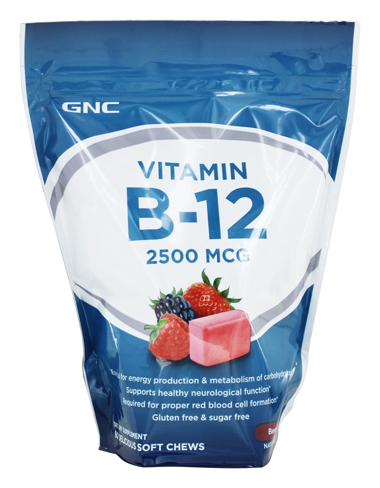 gnc vitamin b12 soft chews reviews