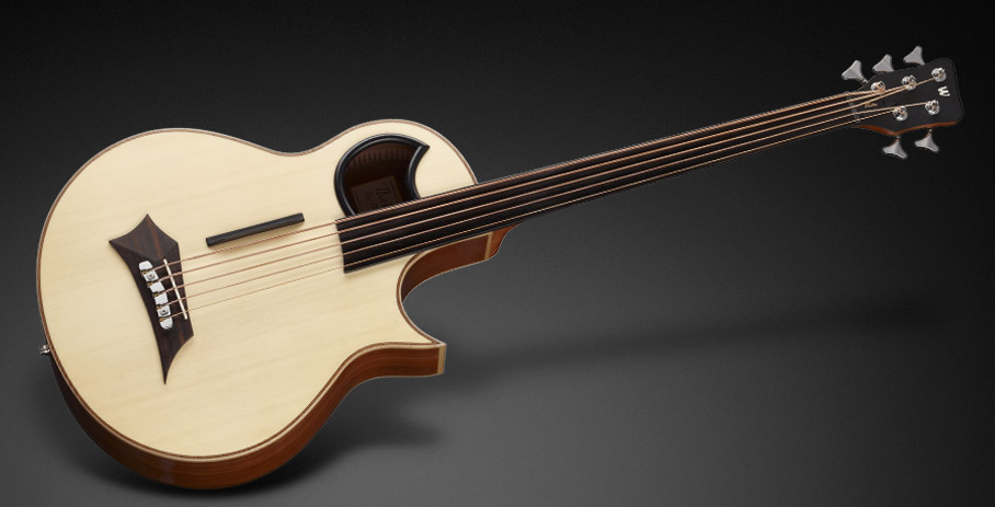 godin a5 ultra fretless review