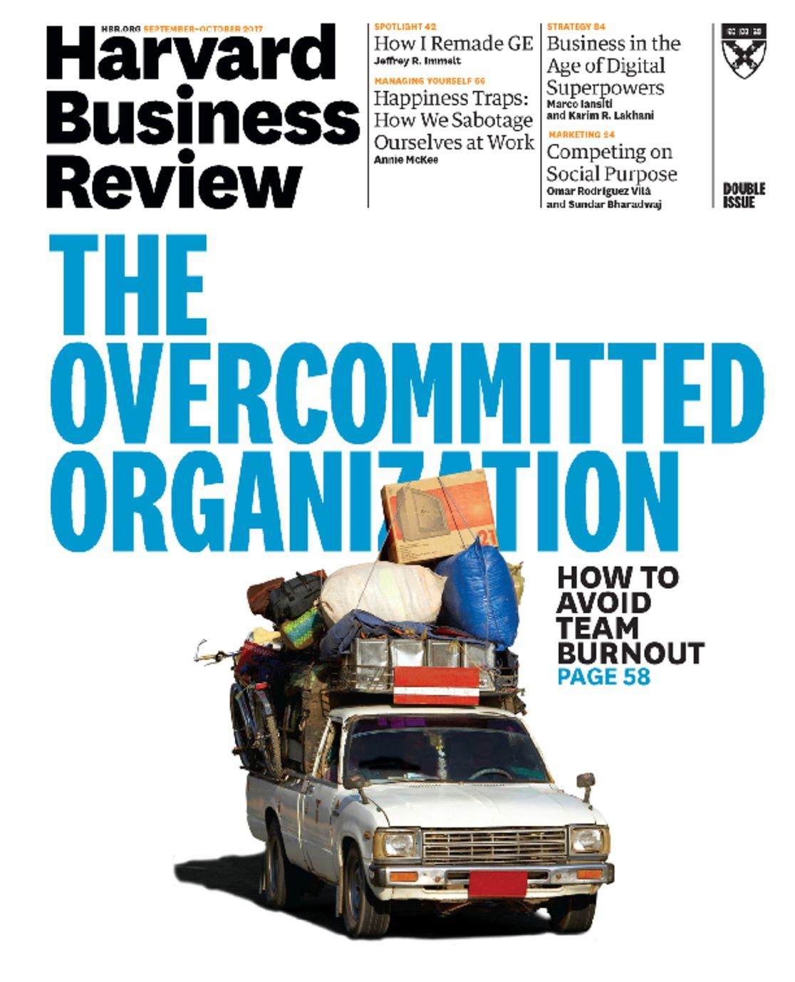 harvard business review magazine articles