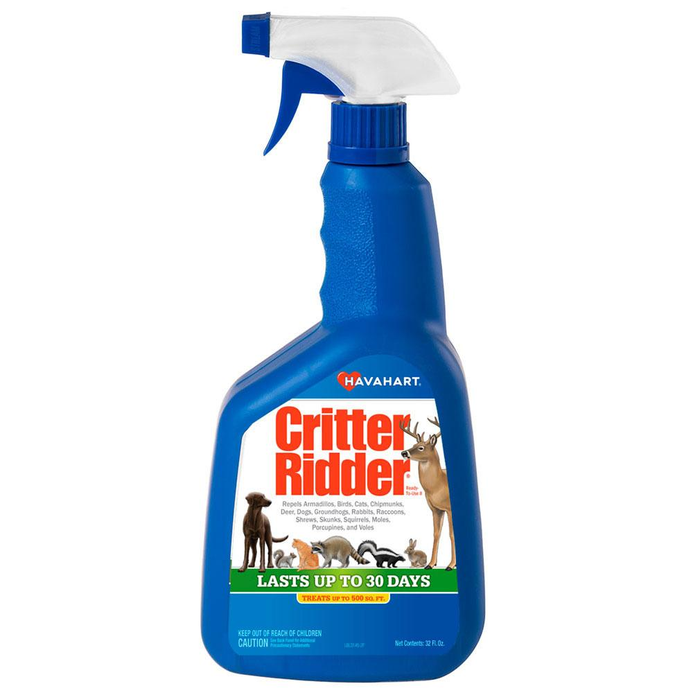 havahart critter ridder spray reviews