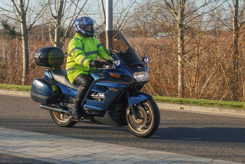 honda pan european st1100 review