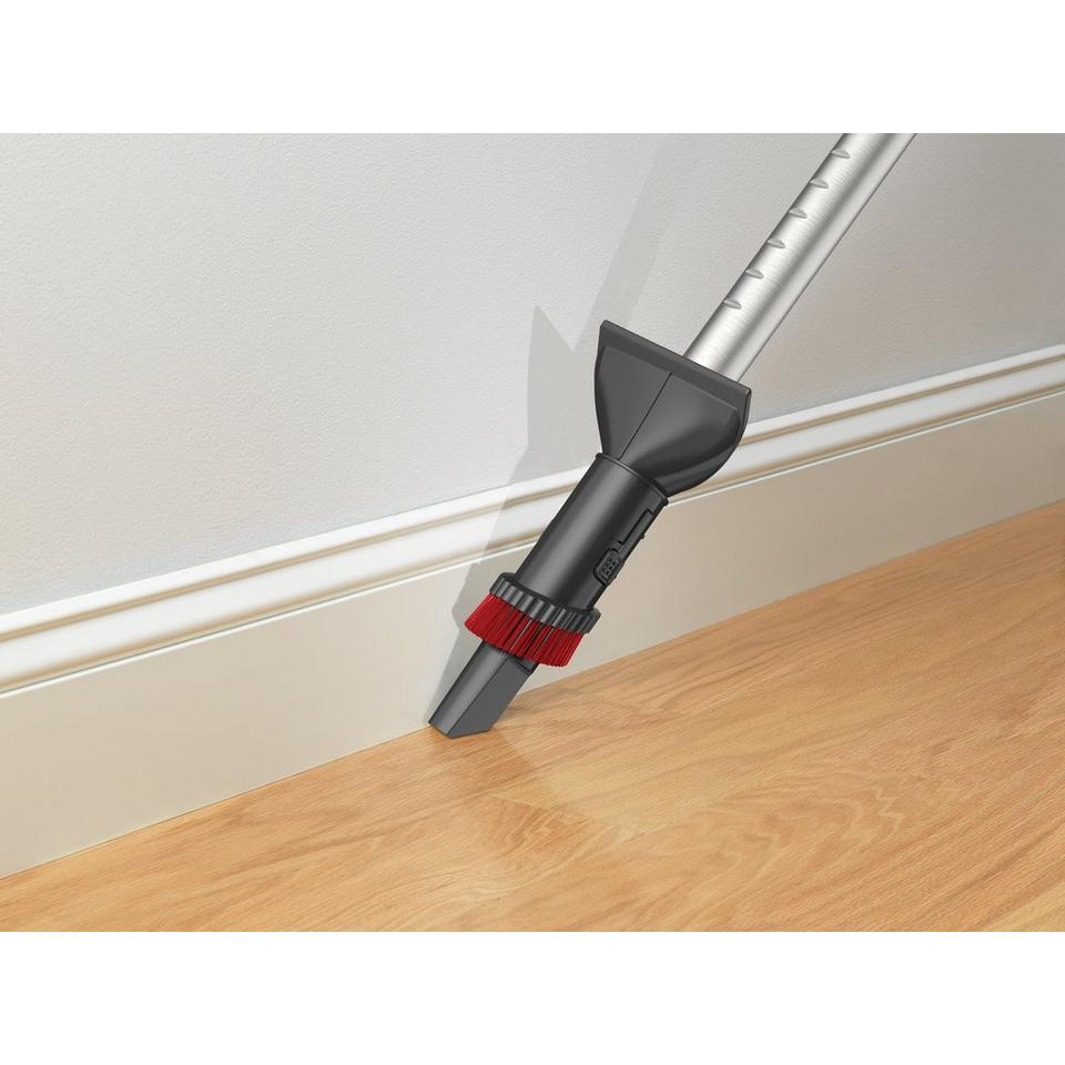 hoover quiet performance bagged canister vacuum reviews