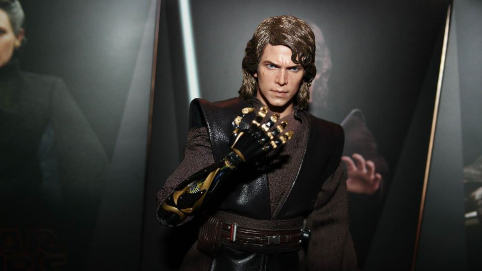 hot toys anakin skywalker review