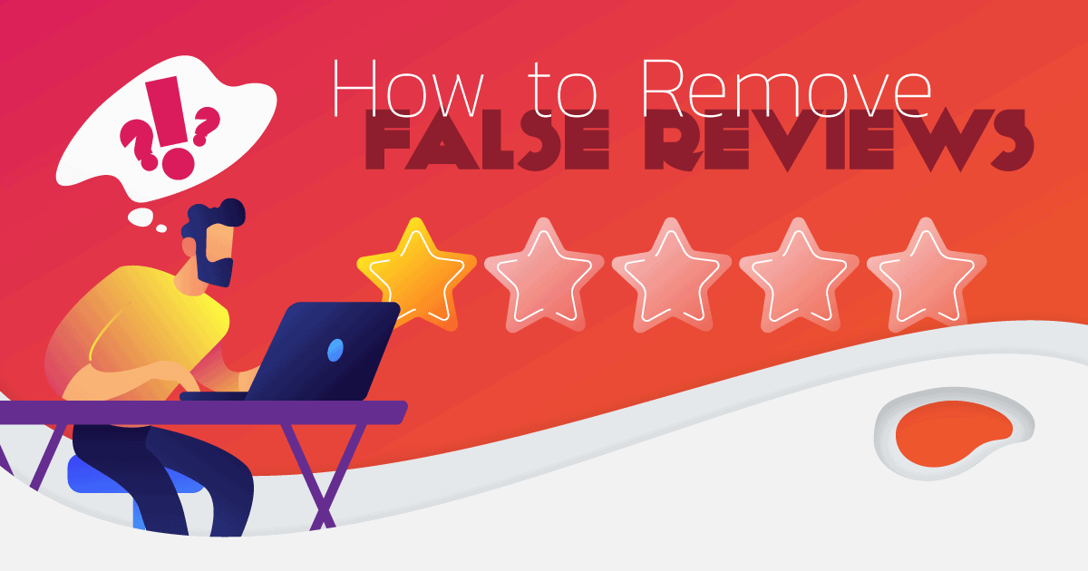 how to remove false reviews from facebook