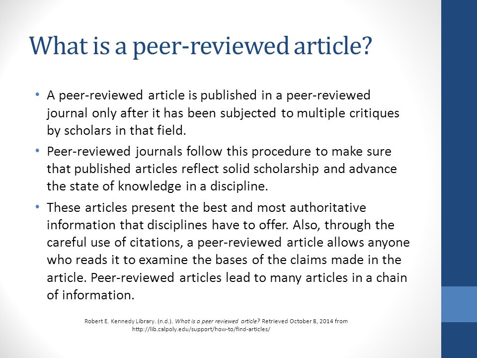 how to review a scholarly article