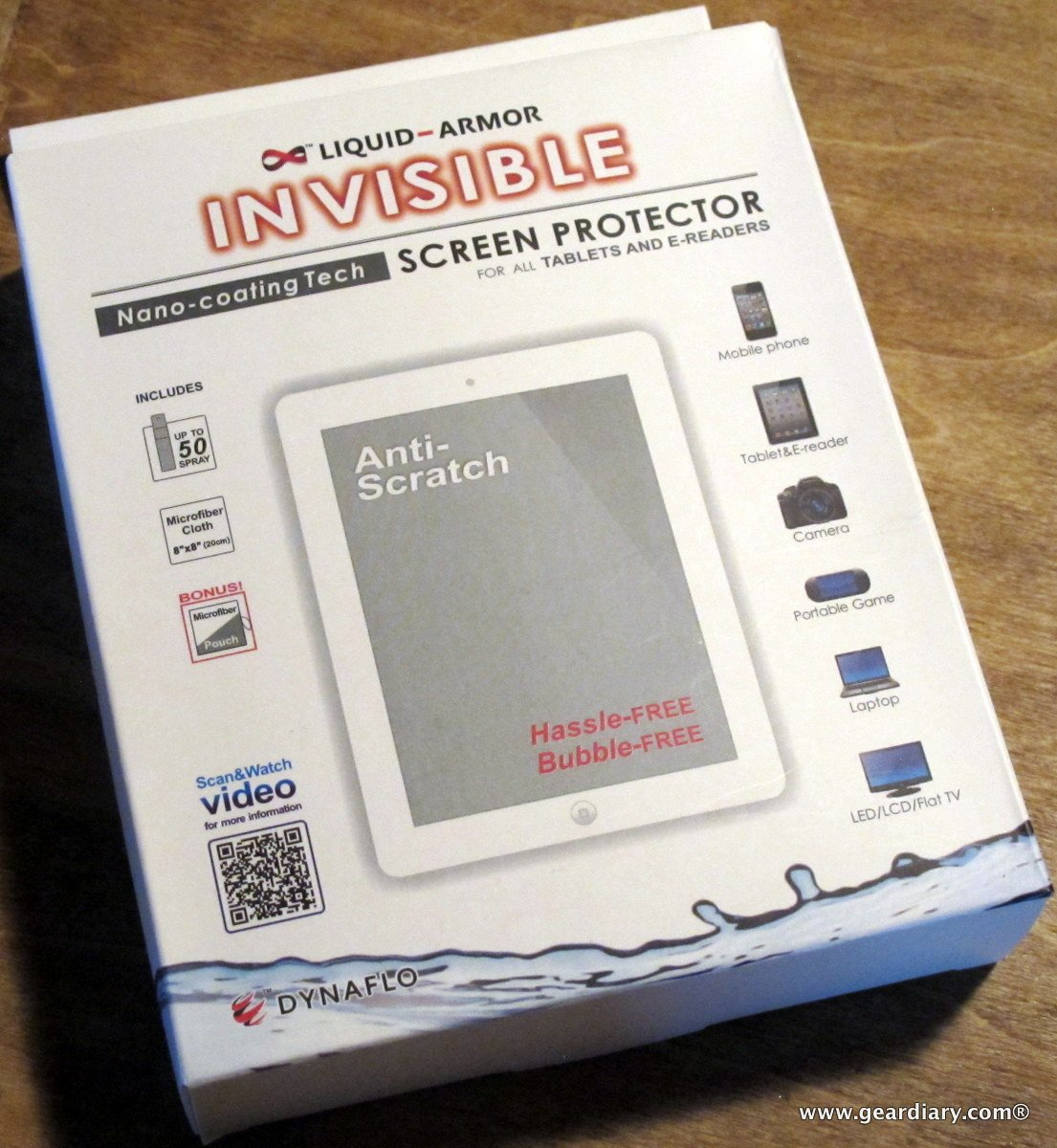 liquid nano screen protector review