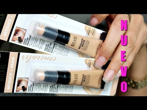 milani retouch and erase concealer review