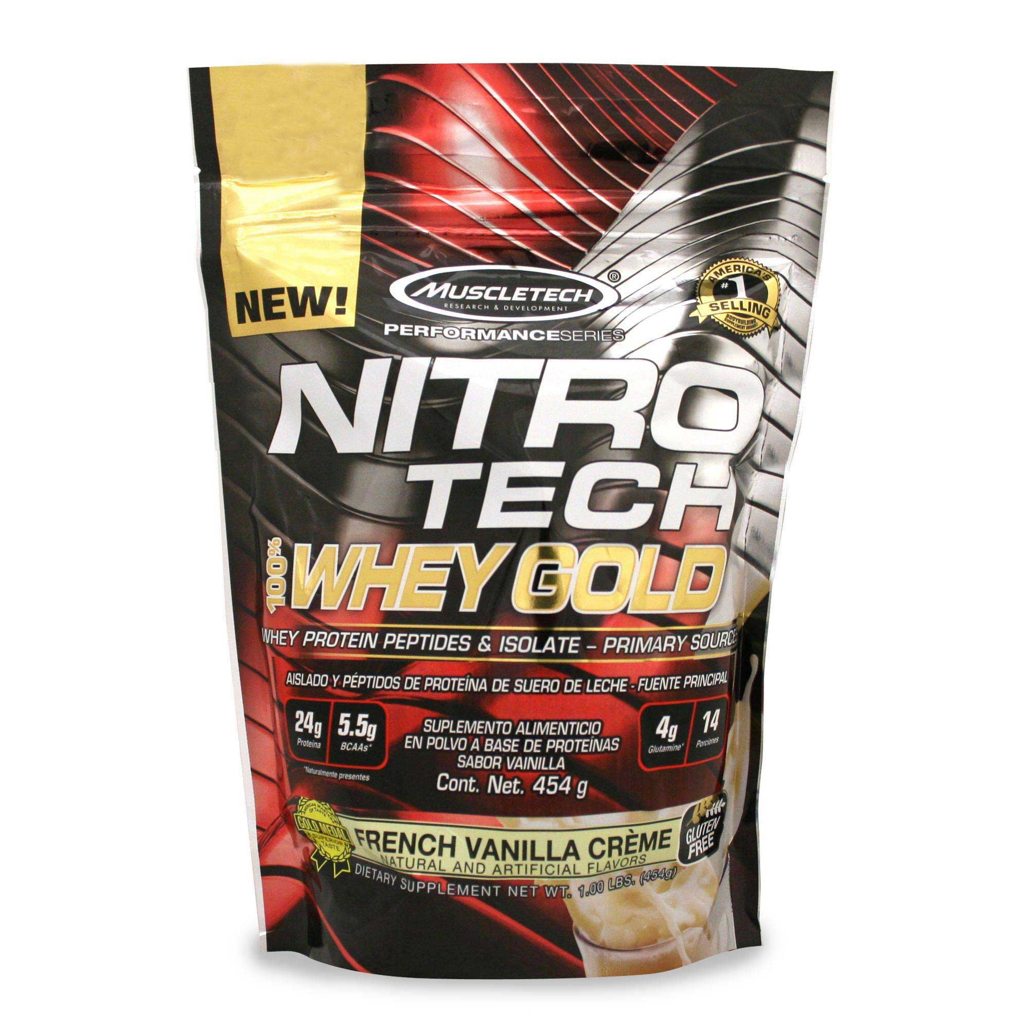 muscletech gold whey protein review