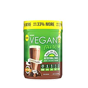 vegan pure all in one chocolate review