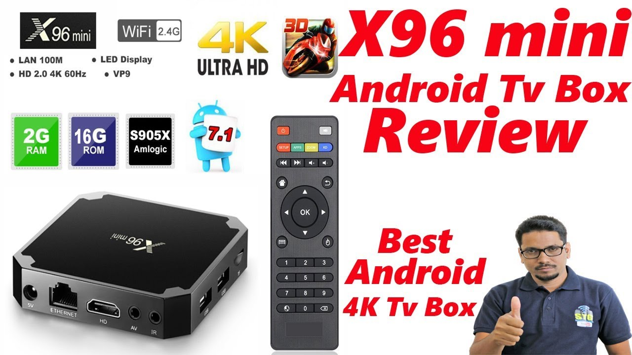 x96 mini android box review