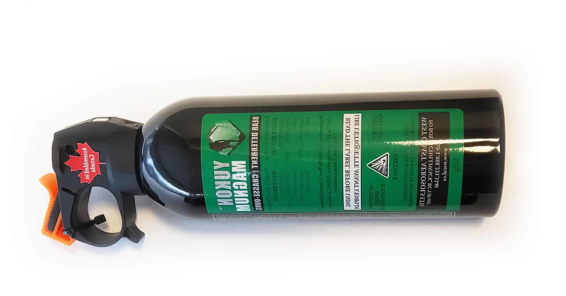 yukon magnum bear spray review